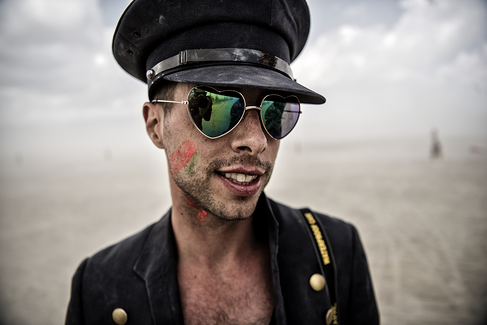 Marek Musil - Burning Man - Faces